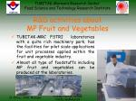r d activities about mp fruit and vegetables