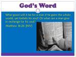 god s word