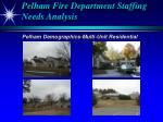 pelham fire department staffing needs analysis9