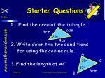 starter questions15