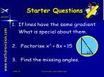 starter questions46