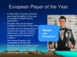 european player of the year