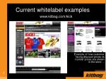 current whitelabel examples7