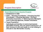 program description foothill aids project