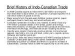 brief history of indo canadian trade13