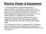 electric power equipment