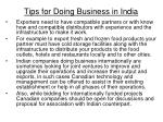 tips for doing business in india36