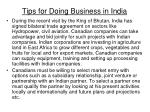 tips for doing business in india37