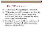 the itc initiative