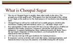 what is choupal sagar
