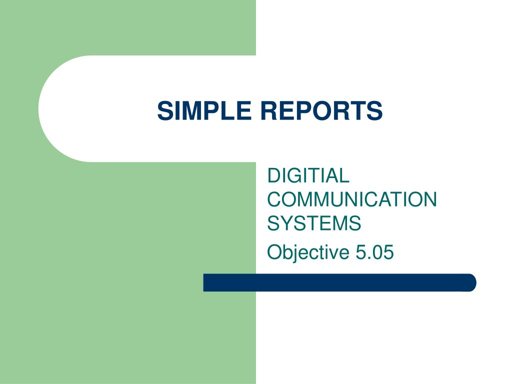 simple reports l.