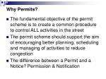 why permits