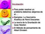 incubaci n