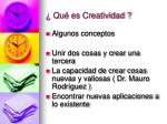 qu es creatividad