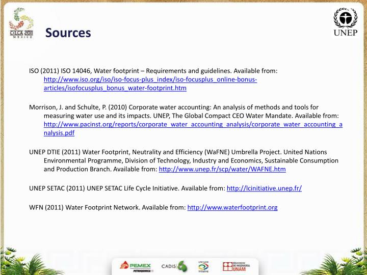 Pdf) water footprint (iso 14046) in latin america, state of the.