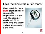 food thermometers thin foods48