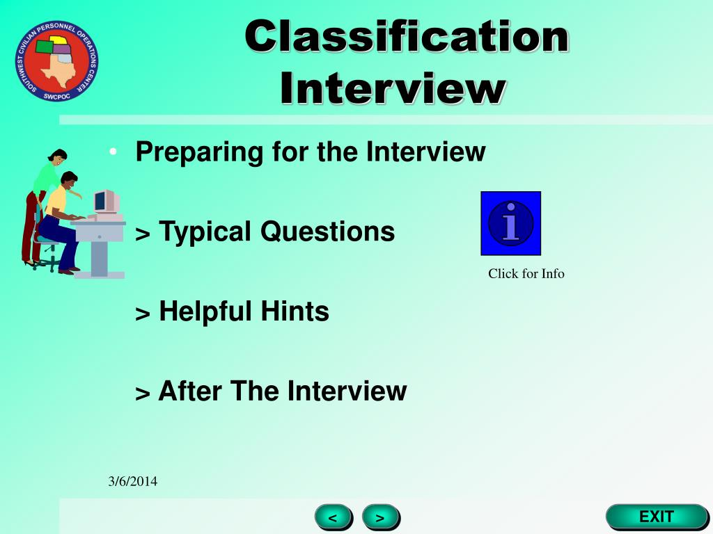 Classification Interview