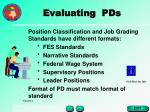 evaluating pds22