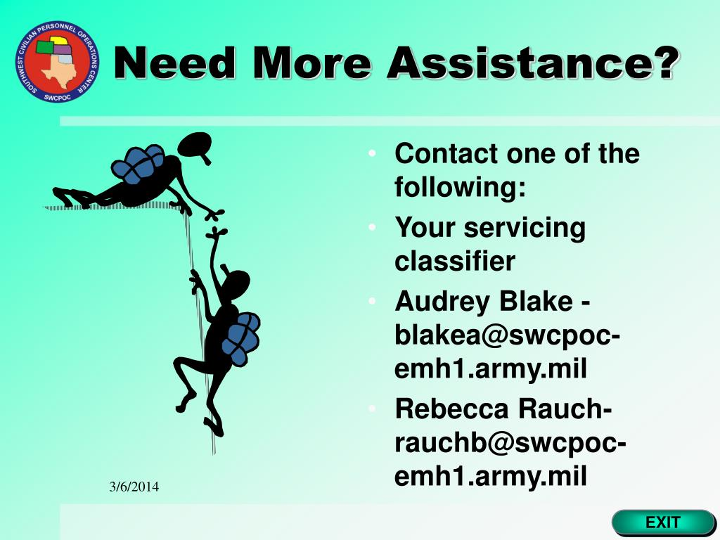 Need More Assistance?