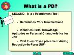 what is a pd