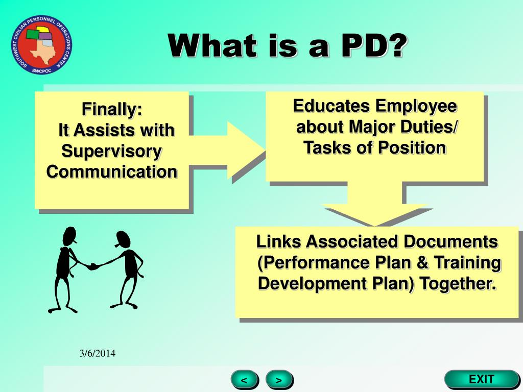 What is a PD?