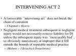 intervening act 2