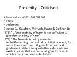 proximity criticised26