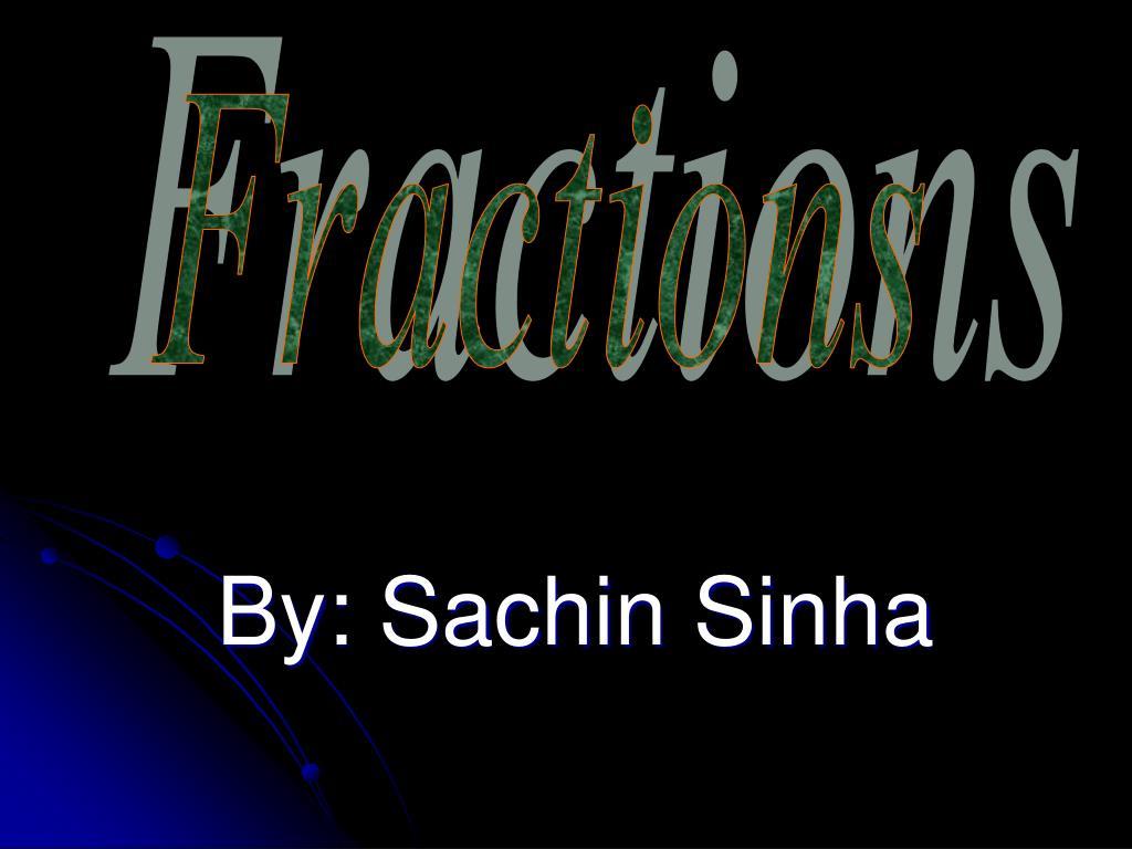 by sachin sinha l.