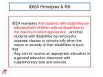idea principles rti