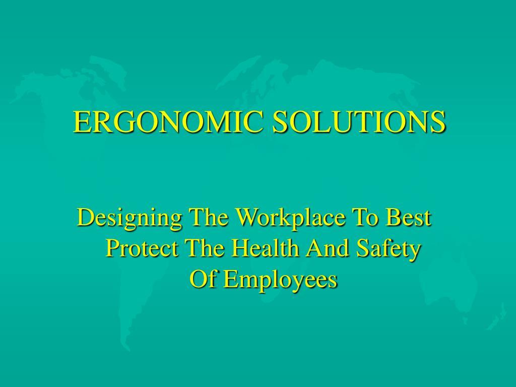 ergonomic solutions l.