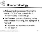 more terminology8