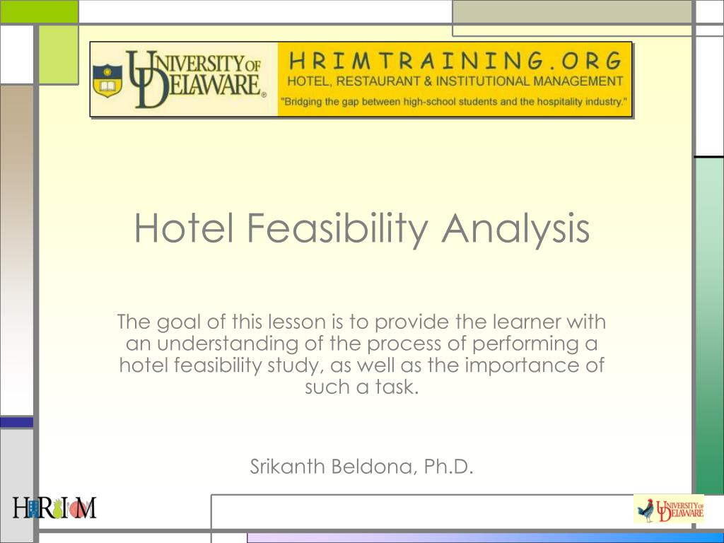 hotel feasibility analysis l.