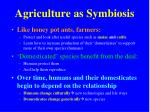 agriculture as symbiosis