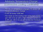 adiabatic temperature change convective cooling continued