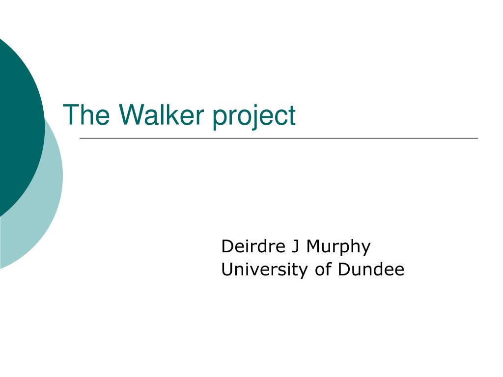 the walker project l.