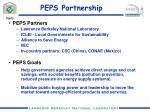 peps partnership
