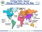 putting public sector energy efficiency on the map