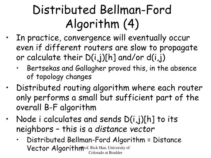 Distributed Bellman-Ford Algorithm (4)