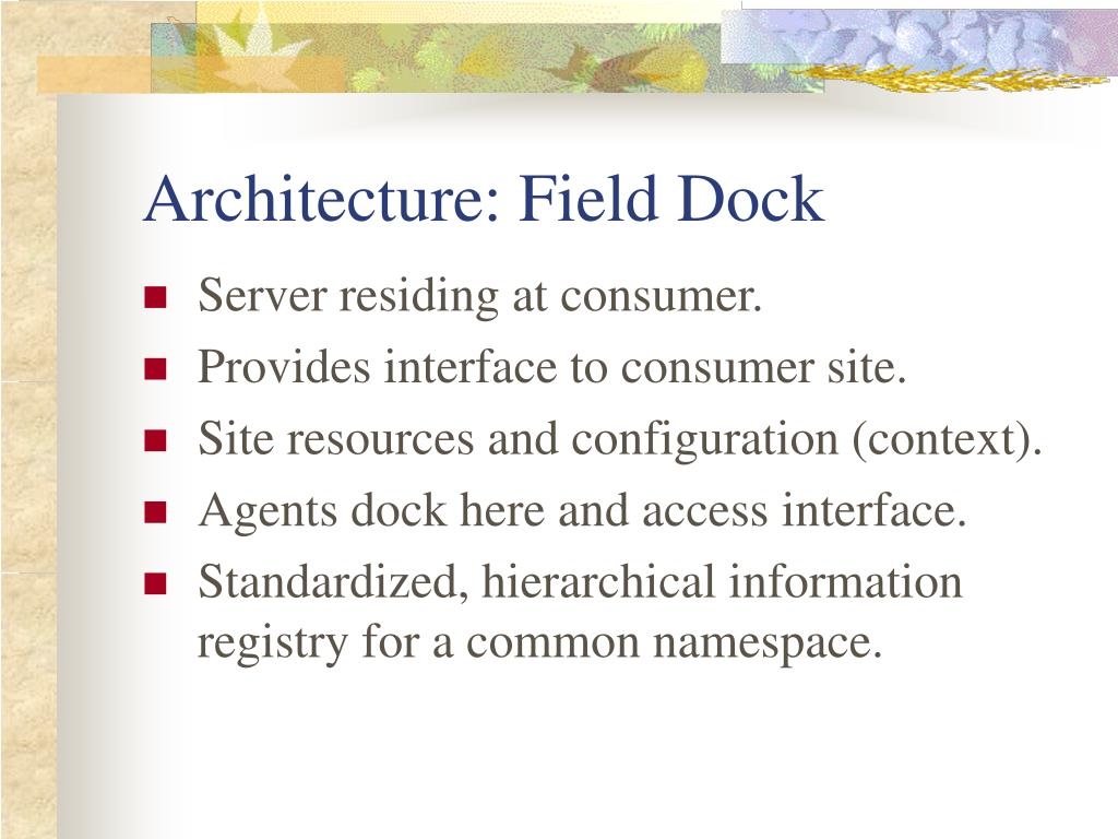 Architecture: Field Dock