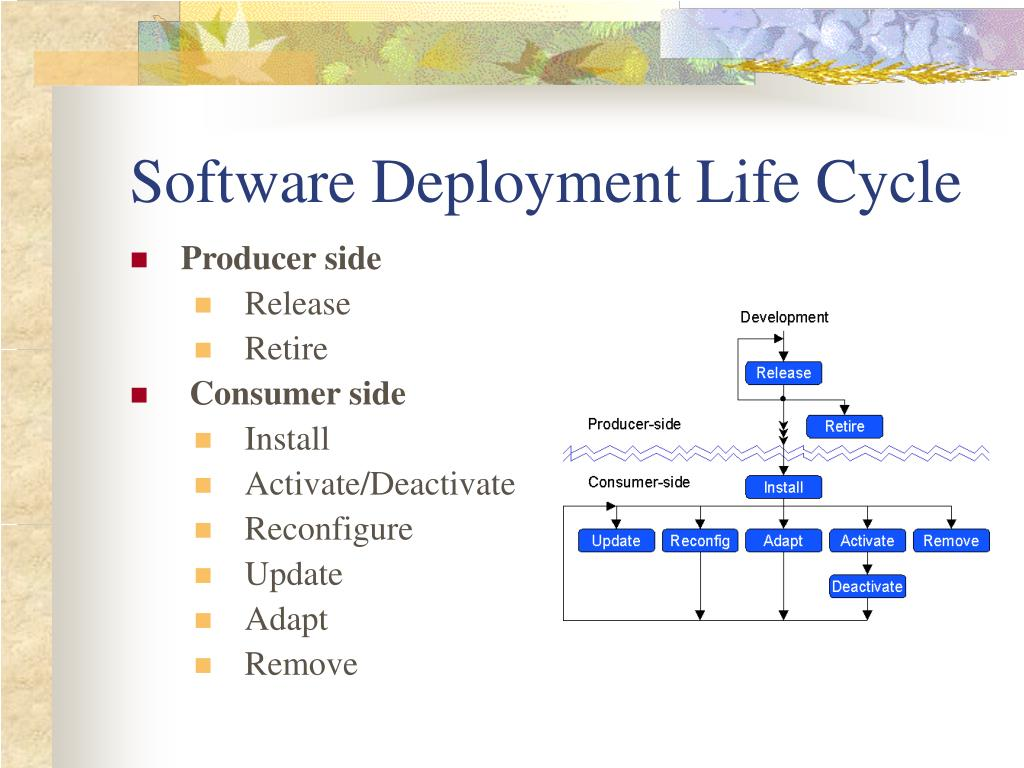 Software Deployment Life Cycle