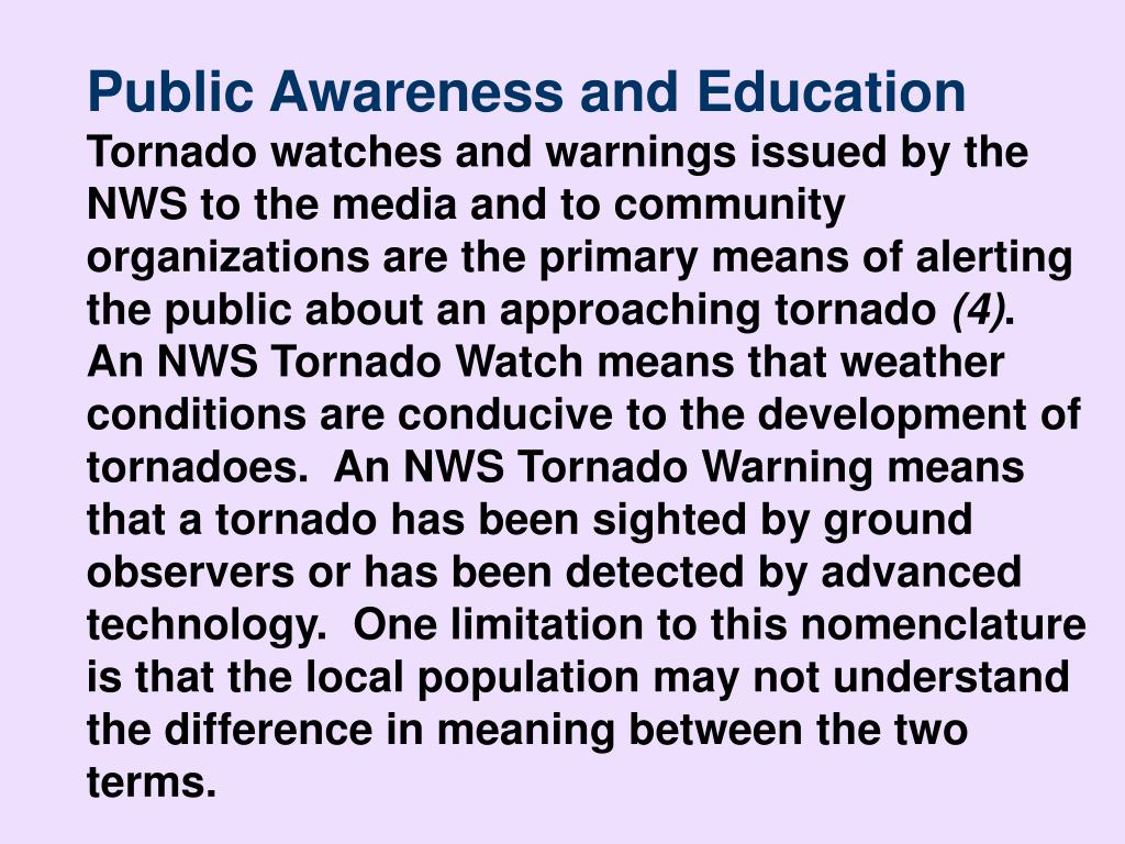 Public Awareness and Education