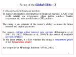 set up of the global cras 2
