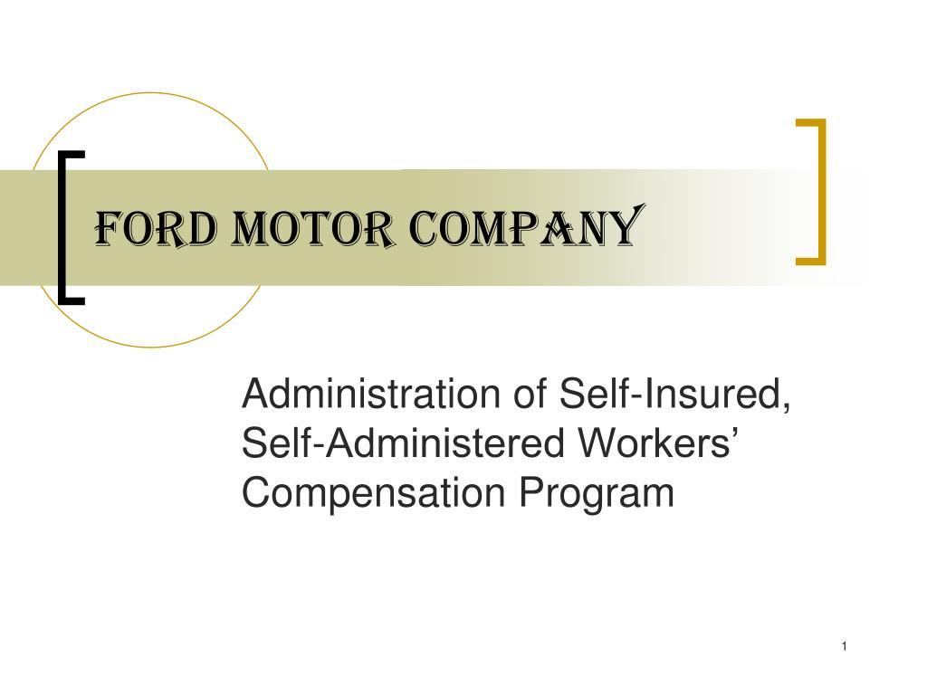 ford motor company l.
