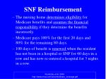 snf reimbursement
