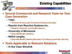 existing capabilities