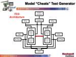 model cheats test generator