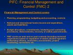 pifc financial management and control fmc 2