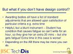 but what if you don t have design control