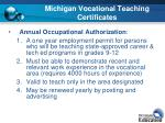 michigan vocational teaching certificates2