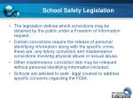 school safety legislation9